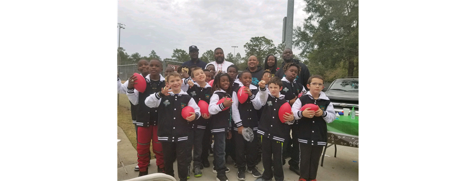 Congratulations  Coach Bear and Mitey Mite Black Jags! 2018 undefeated season and Champions!