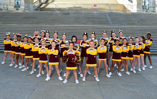 Colonie Cheer Heads to Disney