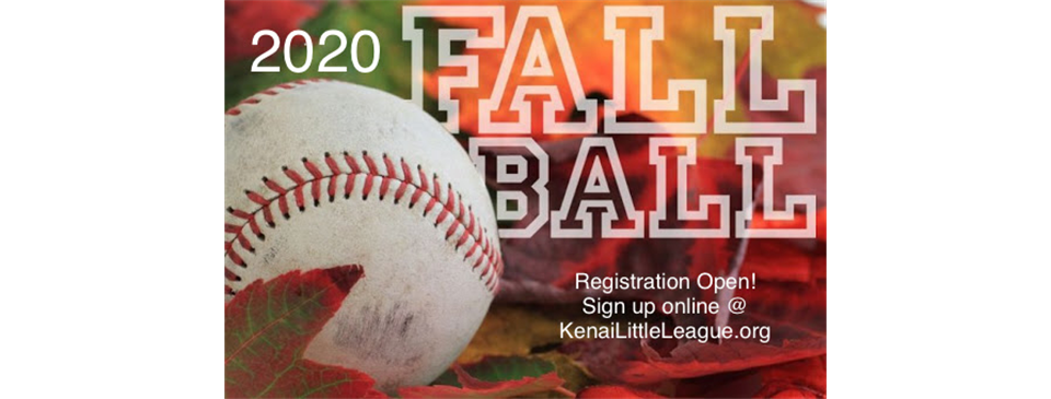 Open Registration for Fall Ball!