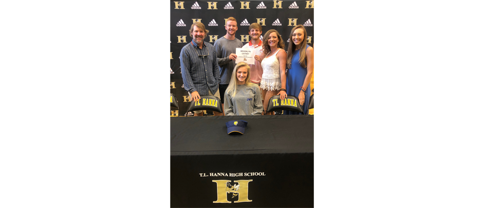 Brooklyn Cathey signs to play at Johnson and Wales University
