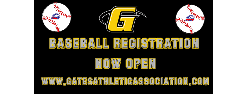 Baseball Registration OPEN