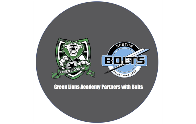 GREEN LIONS SOCCER ACADEMY AND THE BOSTON BOLTS FORM PARTNERSHIP!