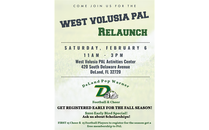 Pop Warner and PAL Event