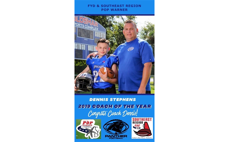 NPP Coach Dennis S is the 2019 Coach of the Year!