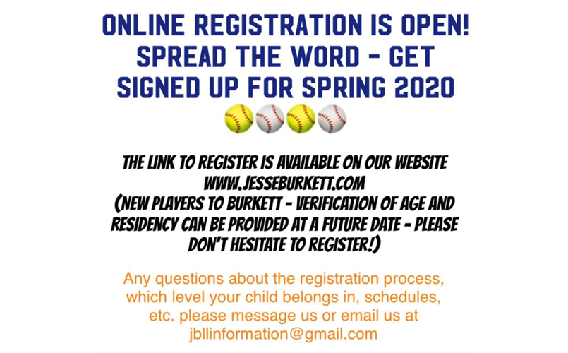 In Person Registration