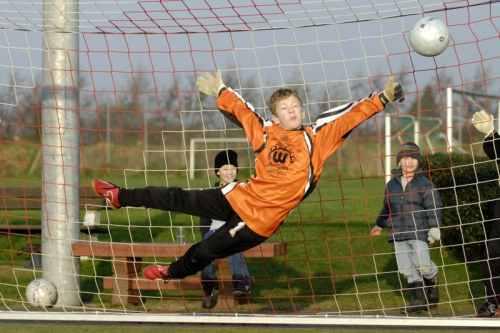 SAY Soccer kid