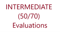 50/70 Evaluations