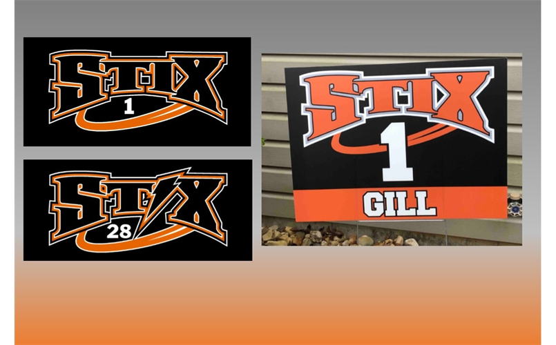 Yard Signs and Decals Now Available