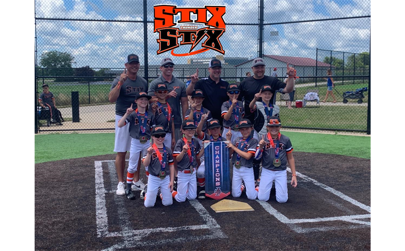 9u Stix Champions Experience the Turf Tournament in Rockford