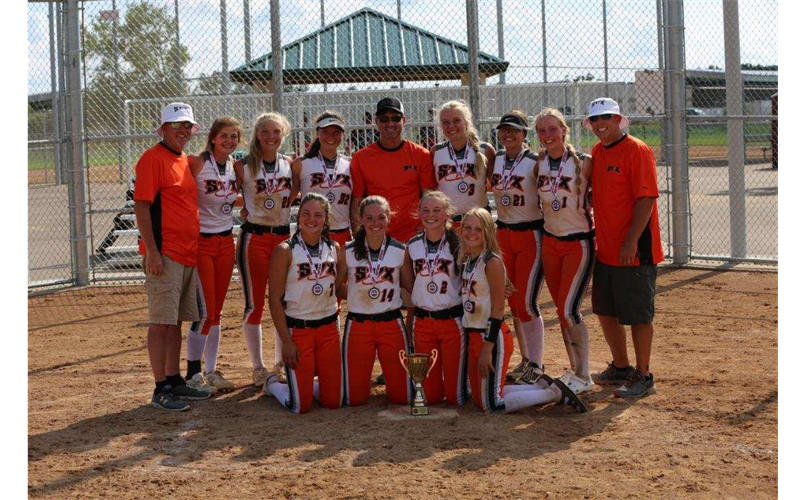 ThunderStix 15U Placed 3rd Silver Division NAFA Nationals