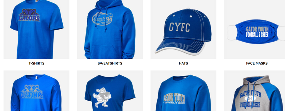 Order & Customize Gator Gear Year Round to your door!