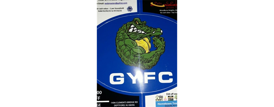 Support GYFC w/ a Coupon & Gator Pride Magnet