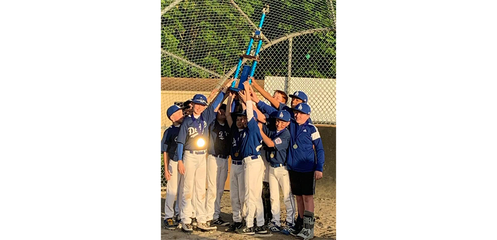 2019 NLLL Majors Champion Dodgers