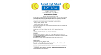 Bothell High School Softball Camp