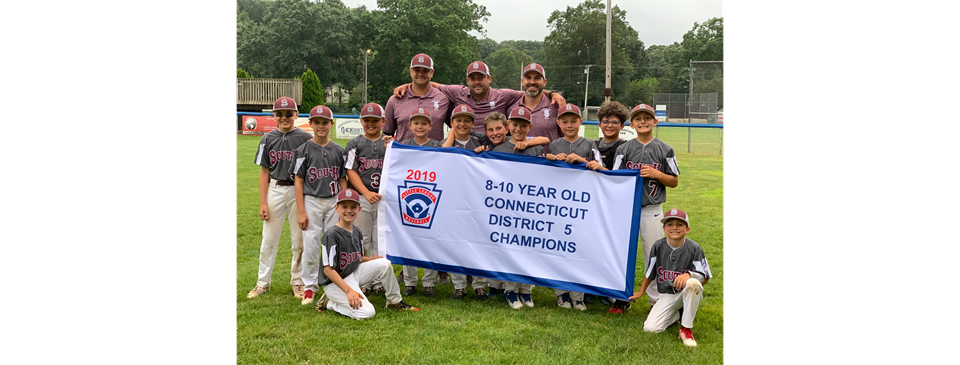District 5 Champs South 10U All Stars