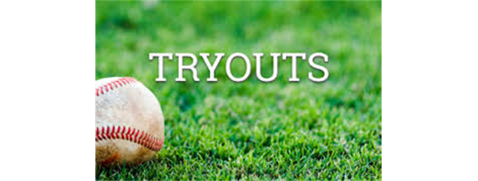 Tryouts will be held on Saturday Jan 30th and Sunday Jan 31st