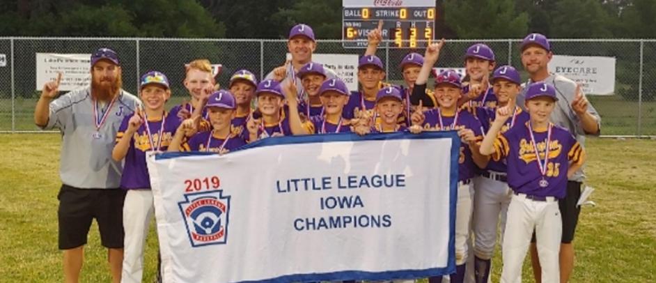 2019 Iowa State Majors Division Champions, Johnston Little League