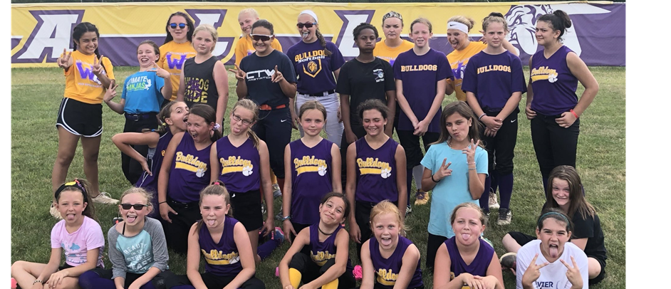 2019 Softball Camp with WHS