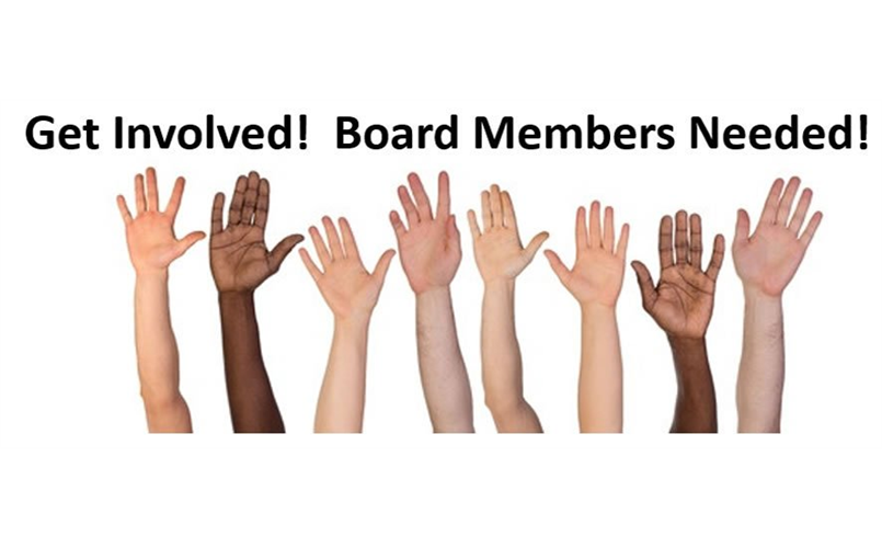 WANT TO JOIN OUR BOARD?