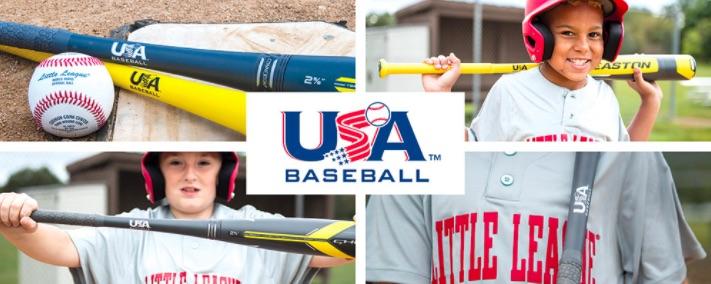 Images of new USA Baseball Bat Logo