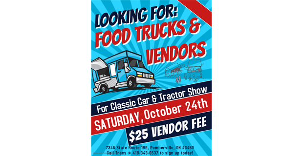 Looking For Food Trucks & Vendors