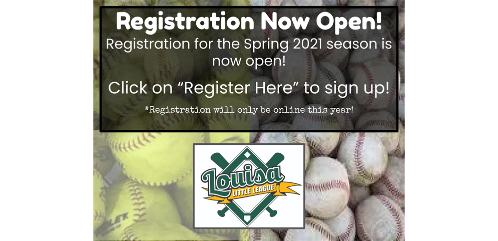 Spring 2021 Registration Now Open!