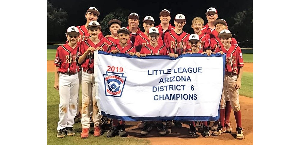 2019 Little League Baseball District 6 Champion: McCormick Ranch LL