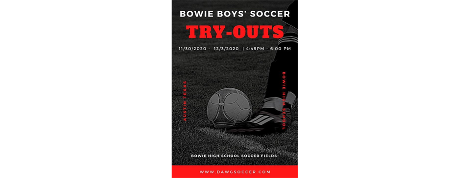 2020/21 Tryouts! 11/30-12/03