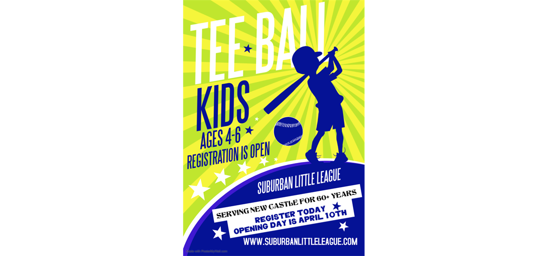 Now Registering Tee Ball