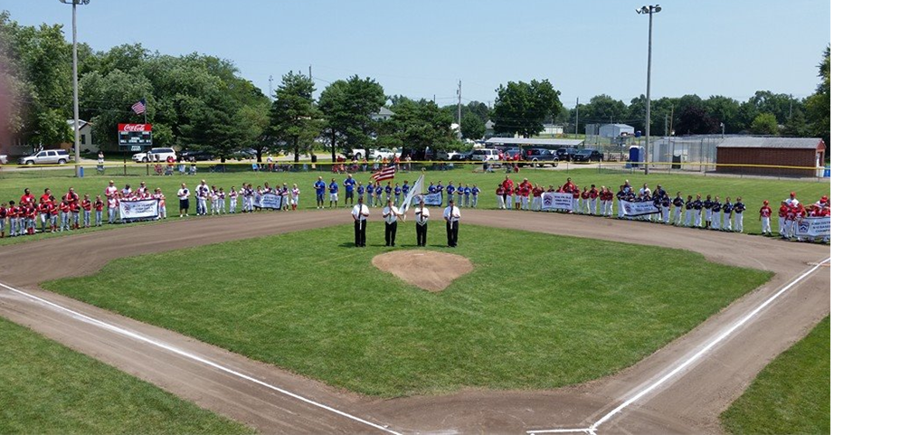 Opening Ceremonies of the 9&10 Little League State Tournament