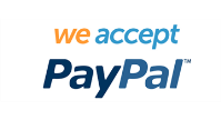 We accept PayPal for donations
