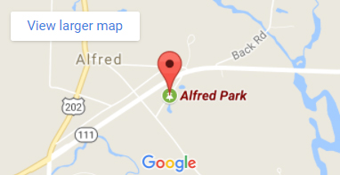 Alfred Park in Alfred, Maine