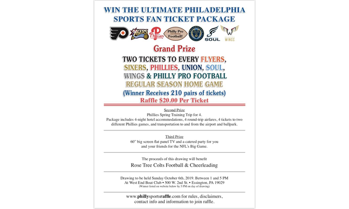 Philly Sport Ticket Raffle