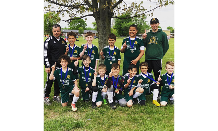 2019 U10 Spring Cup Champions