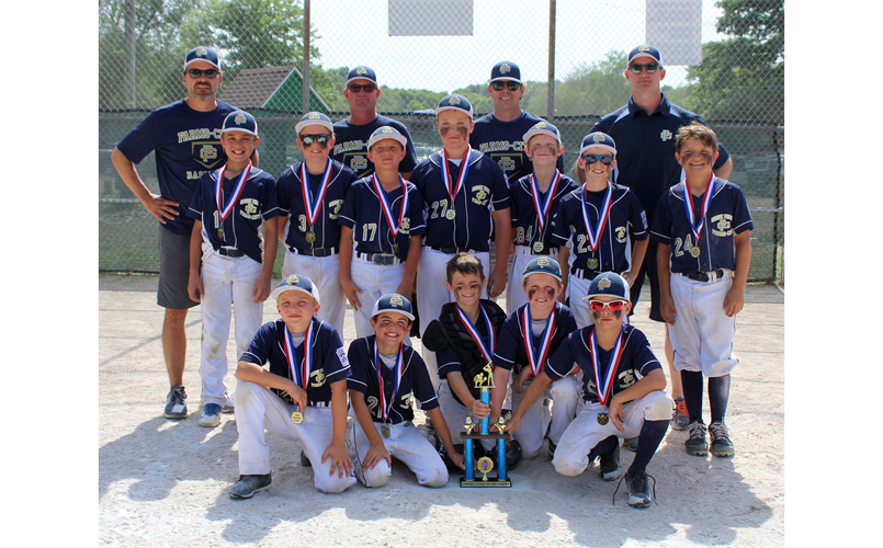 GPFCLL 8-10 Year Old team wins the 2019 Commerce Classic!