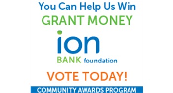 Ion bank Community Award Program