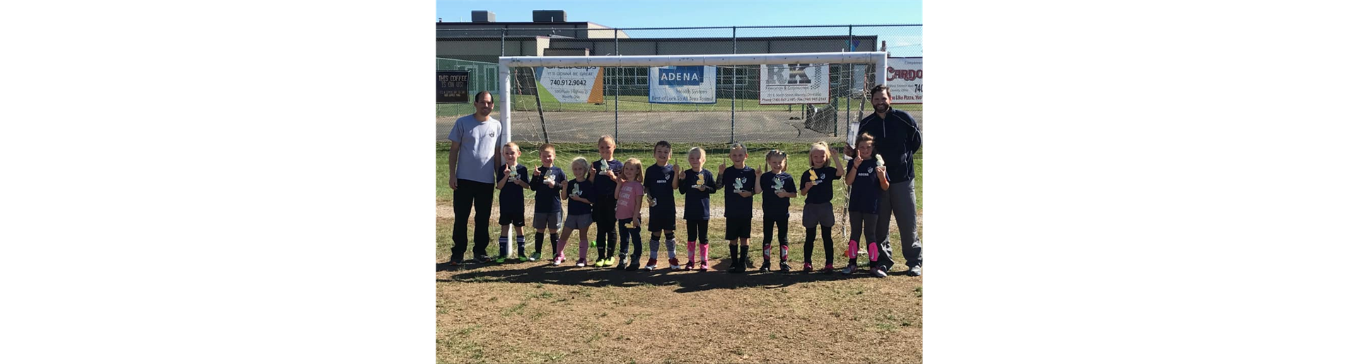 Our U8 Fall Champions!