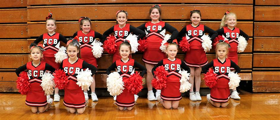 Thanks to our 2019-20 Cheerleading team!