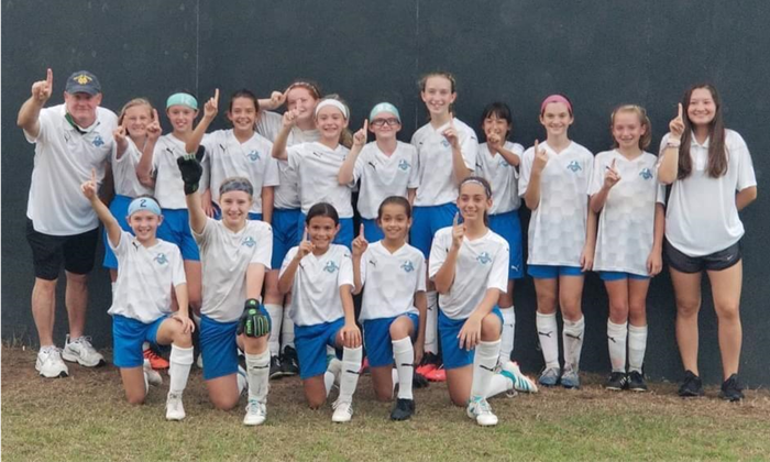 2009 Girls - James Island Cup Champs!