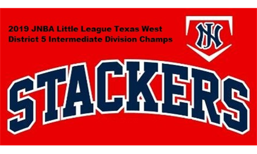 2019 JNBA Stackers Little League Texas West District 5 Intermediate Division Champs