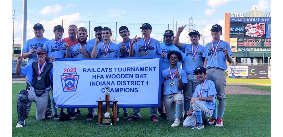 2020 Railcats Wooden Bat Champions