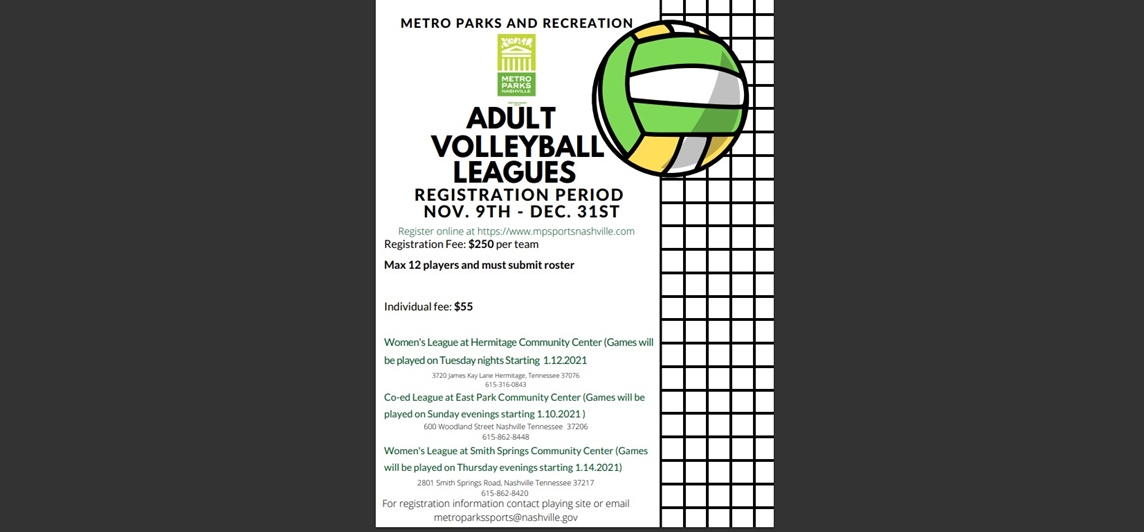 Women's and Co-ed Volleyball Leagues