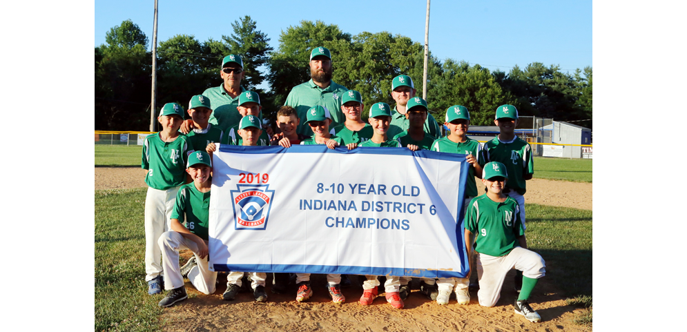 New Castle - 2019 8-10 Year Old Baseball Champs