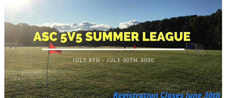 5v5 Summer League Registration Open