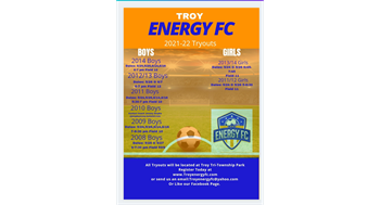 Energy FC Tryout Dates