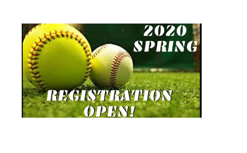2020 Spring Registration is NOW OPEN