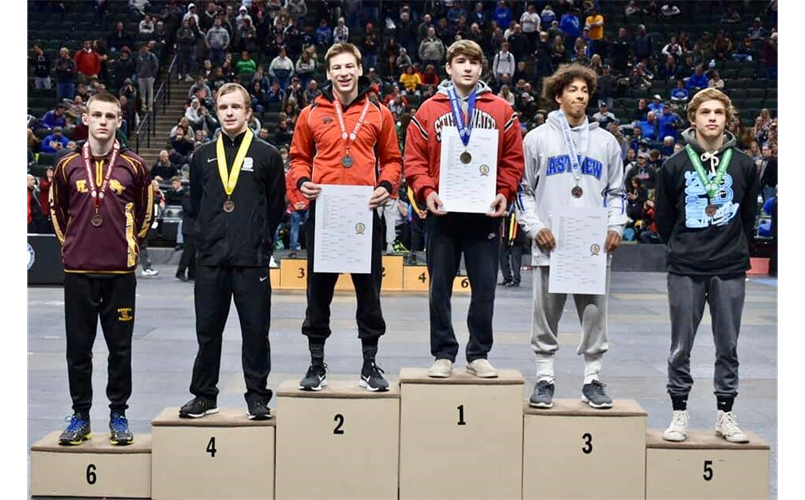 Congrats to Luke Studer on his 5th place finish at state!