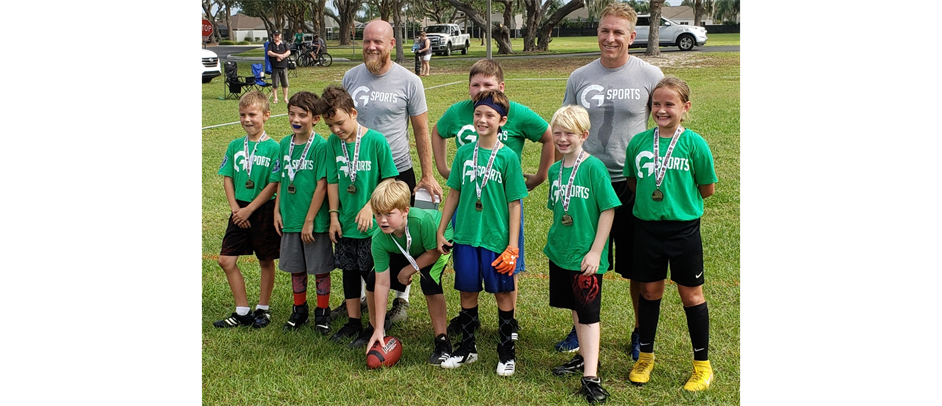 G-SPORTS 9-10 DIVISION FALL CHAMPIONSHIP TEAM