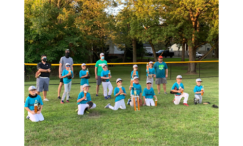 2020 Mighty Mite Champ Mariners!