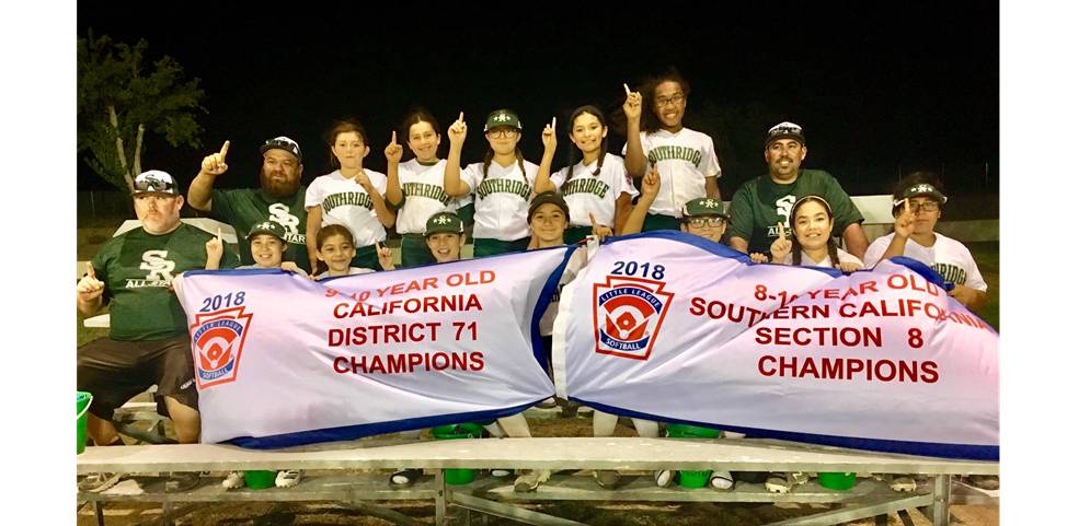 9/10 Softball Section 8 Champions